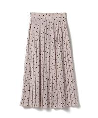 ハートプリーツスカート AG201SK0101