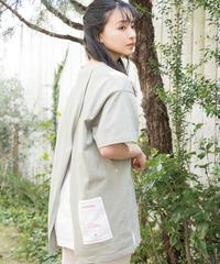 【UNISEX】バックレイヤードロゴTシャツ AG202CS0424