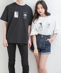 【UNISEX】グラフィックTシャツ AG203CS0736