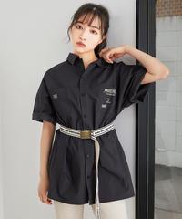 【UNISEX】Wポケットシャツ AG201SH0310