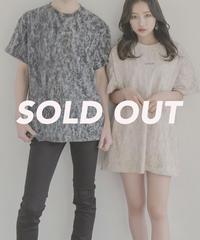 【UNISEX】ケミカルウォッシュロゴTシャツ AG202CS0531