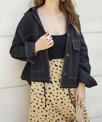 Over Stitch Jacket