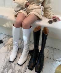 Square Long Boots