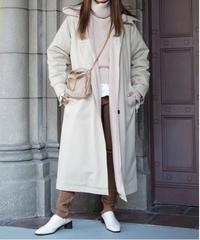 Fur Trench Coat