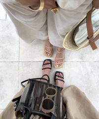 Narrow Strap Sandal