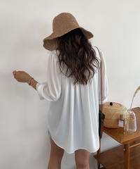 Back Pleats  Blouse