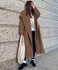 Big Collar Long Coat