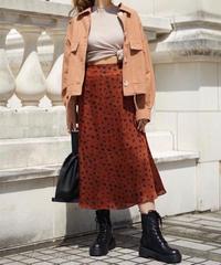 Color Dalmatian Skirt