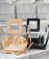 Square Clear Bag