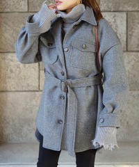 Belt Jacket Coat