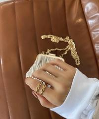24K Twist Ring