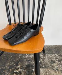 Lace-up Flat Shoes