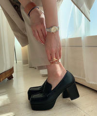 Chunky Heel Loafer