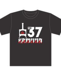 The 37KAMIINAユニットロゴTシャツ