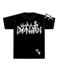 DAMNATION Tシャツ(白)