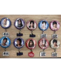 【5/9新作】アクリルチャーム付き缶バッジ ※オンライン数量限定