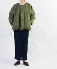 ニットプリーツロングスカート 6DK-104