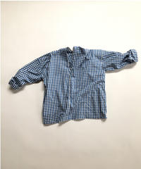 Gingham Zip PO Shirt