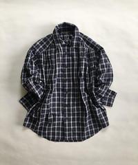 AiE check painter shirt