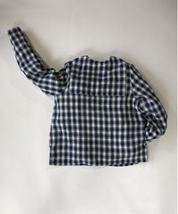 Linen Check Sailor Shirt
