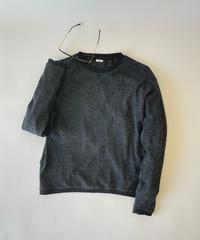 14G Wool CutSew CREW NECK PULLOVER