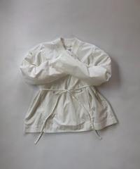 100/2 Poplin Kimono Shirt  / White