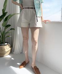 [belt set] wide short pt