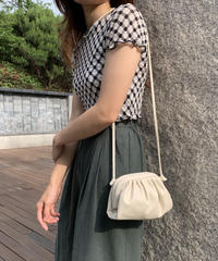 dumpling mini shoulder bag