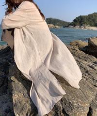 linen long gown
