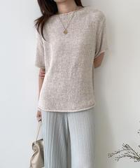 《 在庫限り 》sand summer knit