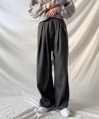 【SALE】stripe tac wide pants