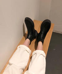 2019 FW / work short boots(2