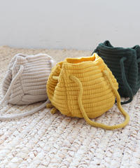 【SALE】2way knit mini bag