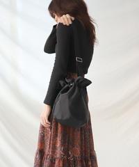 kinchaku shoulder bag