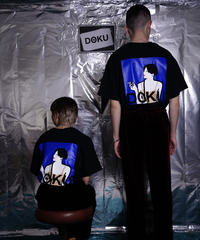 DOKU(独) Illustration T shit  (Blue)