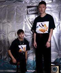 DOKU(独) Collage  T shit