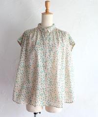 small cubeコットンカディシャツ