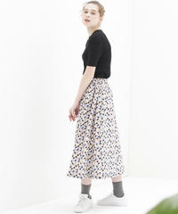 MARU コットンモスギャザースカート