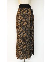 S-02 Flower Lace Fringe Skirt