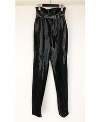 P-01/02 Glossy Tuck Pants