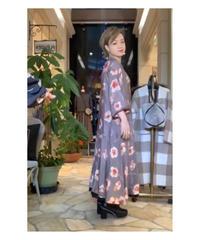 10/1 インスタライブご紹介アイテムアイテム フラワープリントワンピース(ベージュ)