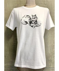 fortune squirrel T(オフホワイト)