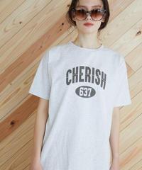 CHERISH ロゴTシャツ