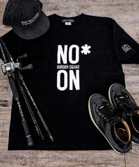 NO/ON Tee 【Black・スミ黒】