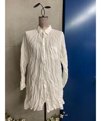 リネンブロードワークシャツ(ホワイト)