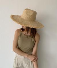 cap-02021 FRINGE TSUBA HIROSHI STRAW HAT