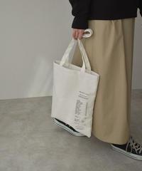 bag2-02563 RECEIPT DESIGN TOTE BAG