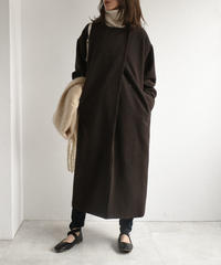 outer-04009 MADE IN JAPAN RECYCLED WOOL LONG COAT