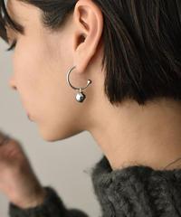 mb-pierce2-02430 BALL HOOP EARRINGS