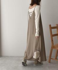 onepiece-07001 SATIN CAMISOLE DRESS